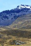 Peru, Cuzco, na estrada Foto de Stock Royalty Free