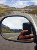Peru de Estrada para Cusco Fotografia de Stock Royalty Free