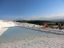 Peru do hotspring de Pamukkale imagem de stock