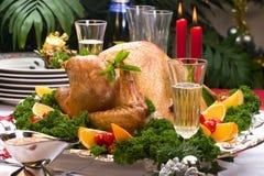 Peru do Natal na tabela do feriado fotos de stock