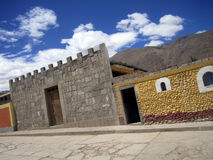 Peru-Dorf Lizenzfreie Stockbilder