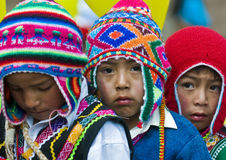 Peru education day Royalty Free Stock Images