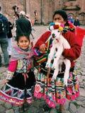 Peru em uma foto Fotografia de Stock Royalty Free