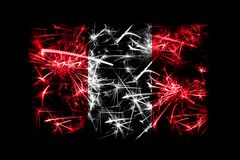 Peru fireworks sparkling flag. New Year 2019 and Christmas party concept. Peru fireworks sparkling flag. New Year 2019 and Christmas party concept royalty free stock photo
