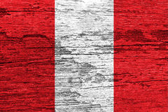 Peru Flag Royalty Free Stock Photo