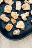 Peru fritado, desbastado na frigideira Foto de Stock