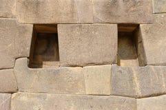 Peru, heiliges Tal, Ollantaytambo Inkafestung Lizenzfreie Stockfotografie