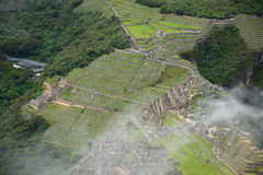 Peru inca ancient ruin Stock Images