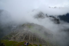 Peru inca ancient ruin Royalty Free Stock Images
