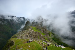 Peru inca ancient ruin Stock Photos