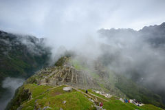 Peru inca ancient ruin Royalty Free Stock Image