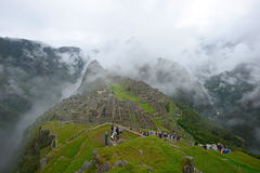 Peru inca ancient ruin Royalty Free Stock Photo