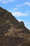 Peru Inca City Ollantaytambo Stock Photography