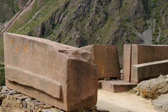 Peru Inca ruins Stock Photo