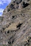 Peru incan niszczy świętą doliny Zdjęcia Stock