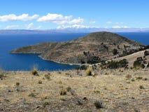 peru jeziorny titicaca Zdjęcia Stock