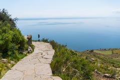 Peru jezioro Titicaca Zdjęcie Stock