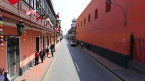 Santo Domingo square and convent in Lima Peru