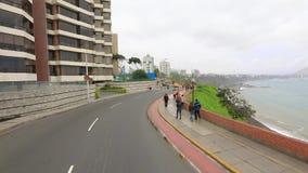 Reserva seaside promenade Lima Peru
