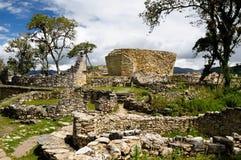 Peru, Kuelap extraordinary archeological site near Chachapoyas royalty free stock image