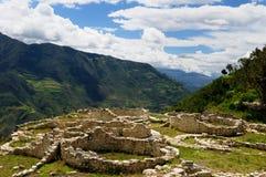 Peru, Kuelap extraordinary archeological site near Chachapoyas stock image