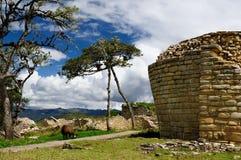 Peru, Kuelap extraordinary archeological site near Chachapoyas stock photos