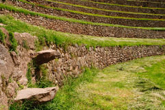 Peru, Laboratory of agriculture of the Incas Royalty Free Stock Image