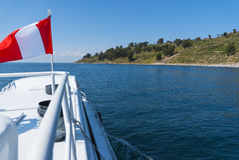 Peru Lake Titicaca imagem de stock