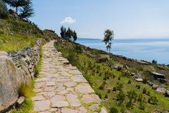 Peru Lake Titicaca image libre de droits