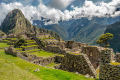Peru landscape nature machu picchu royalty free stock images