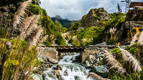 Peru landscape nature river stock photos