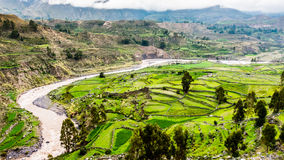 Peru landscape nature river stock images