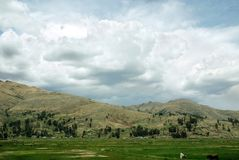 Peru landscape Stock Photo