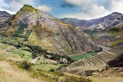 Peru landscape Royalty Free Stock Images