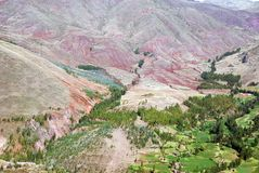 Peru landscape Stock Photography