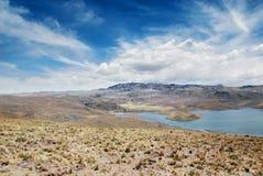 Peru landscape Stock Image