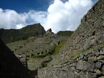 Peru: Mach Pichu, Unesco światowe dziedzictwo w Andines fotografia stock
