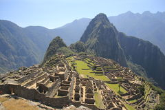 Peru Machu Picchu Royalty Free Stock Images