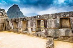 Peru. Machu Picchu historic monument old city Stock Photography