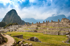 Peru. Machu Picchu historic monument old city Stock Images