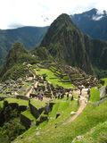 Peru: Machu Pichu, Unesco World Heritage in the Andines stock photo