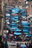 Peru Market, Peruvian People, Travel Stock Photo
