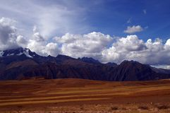 Peru mountains, Sacred Valley Stock Photo