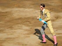 PERU - NOV 2013: Spanish torero Juan Jose Padilla Stock Image