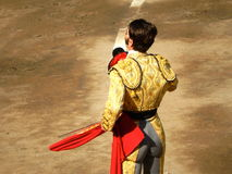 PERU - NOV 2013: Spanish torero Juan Jose Padilla Stock Photography