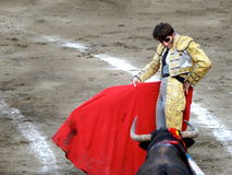 PERU - NOV 2013: Spanish torero Juan Jose Padilla Royalty Free Stock Photo