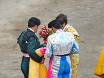 PERU - NOV 2013: Spanish torero Juan Jose Padilla Royalty Free Stock Photos