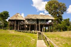 Peru, paisagem peruana de Amazonas. O presente ind típico da foto imagens de stock royalty free