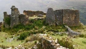 Peru, Piruro pre Columbian ruins near Tantamayo Stock Photos