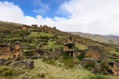 Peru, Piruro pre Columbian ruins near Tantamayo Stock Image